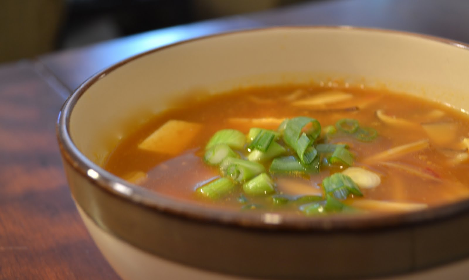 Veggies For Real: Vegan Hot and Sour Soup