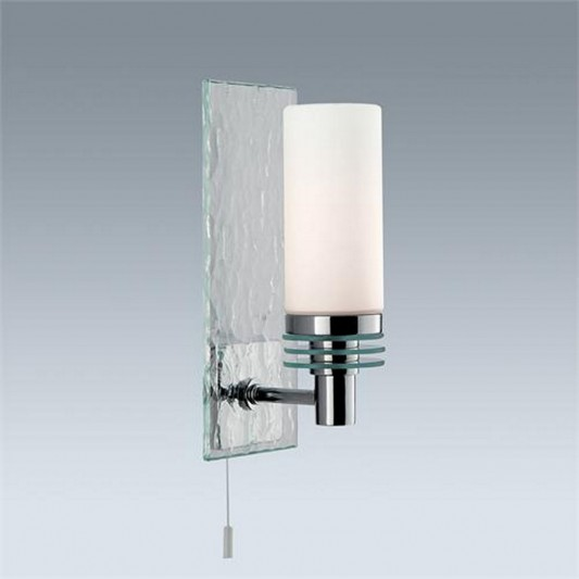Innovative  Clear Glass Globe Contemporary Bathroom Wall Light  Fritz Fryer