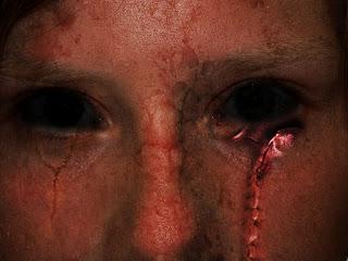 darkart rosto com cicatrizes