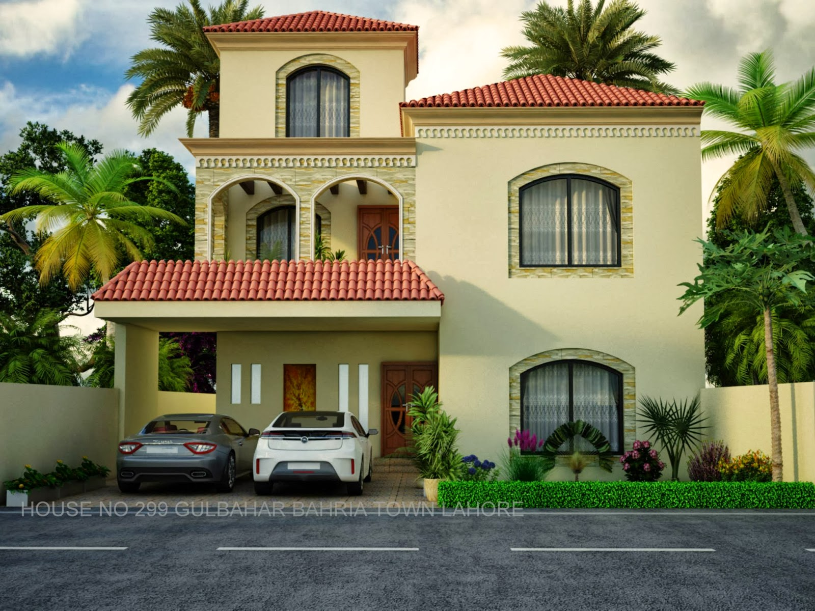 Pakistani bungalow elevation joy studio design gallery for Pakistani homes design