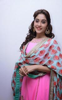 Actress Regina Latest Pictures in Salwar Kameez at Ranam 2 Audio Launch  14.jpg