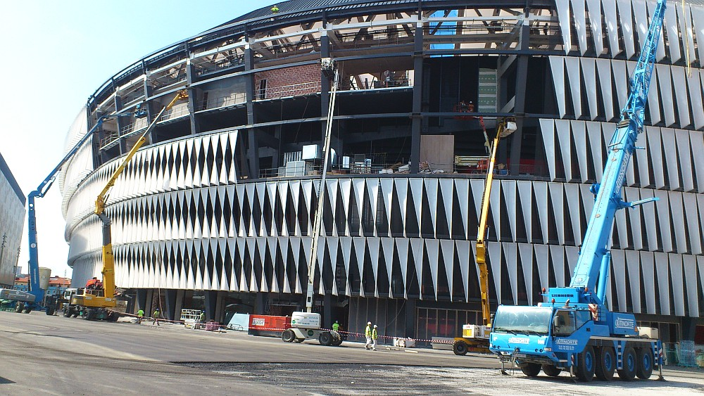 Culminan las obras de San Mamés. Athletic Club de Bilbao