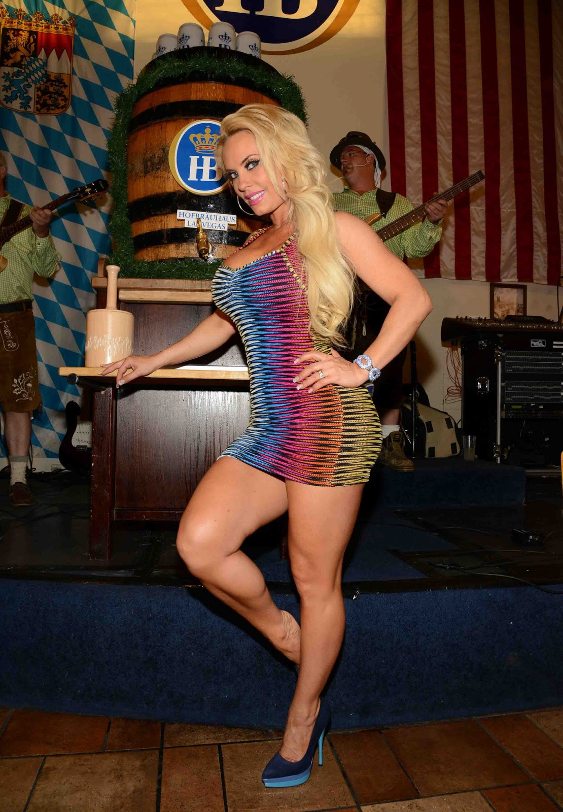 Times Square Gossip: TAPPING KEGS WITH NICOLE COCO AUSTIN & ICE-T