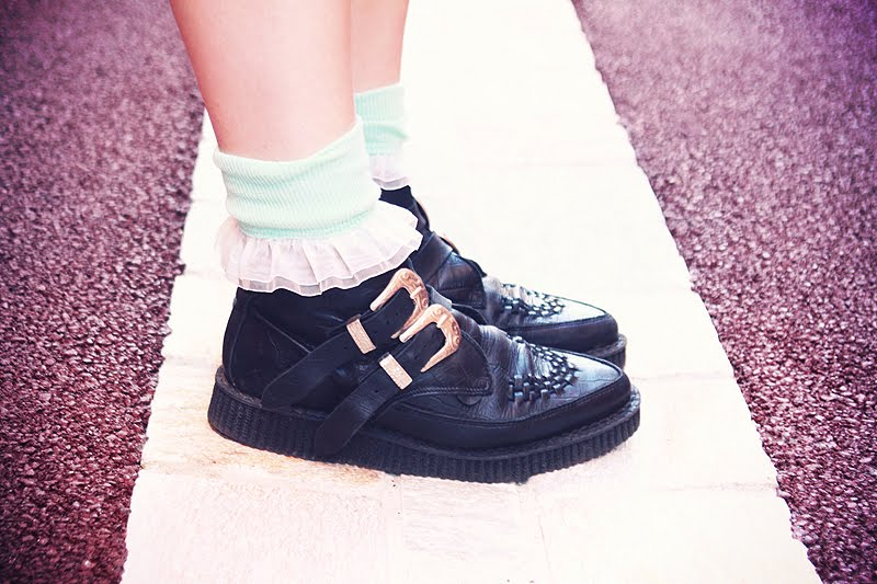 creepers underground boots