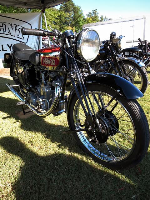 Vincent Meteor Motorcycle