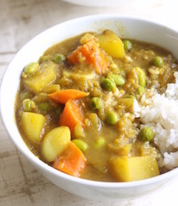 vegetarian japanese curry recipe by seasonwithspice.com