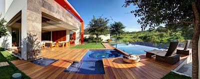 Rumah Kontemporer Gaya Amerika Latin1