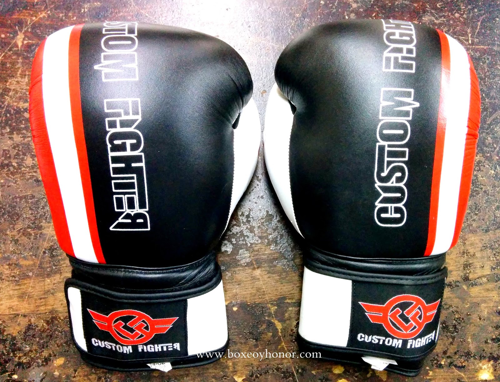 guantes de boxeo custom fighter
