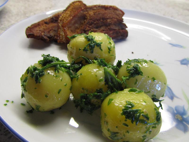 kartofler med persille