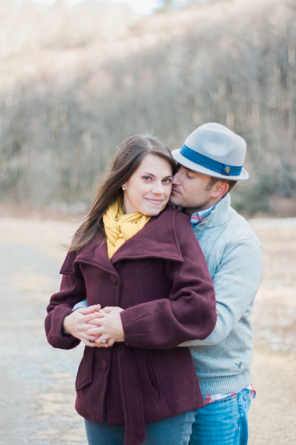 Katie + Dom's Winter Engagement Photo Adventure by Boone Engagement Photographer Wayfaring Wanderer