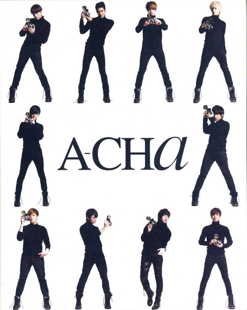 Super Junior ACha Scan Wallpaper  Take Wallpaper