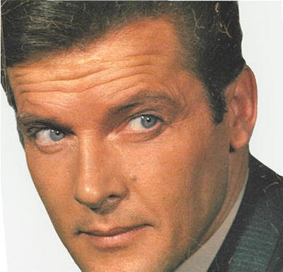 Roger Moore actores de tv