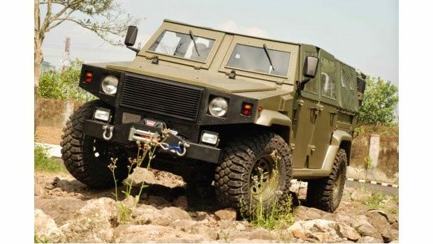 ILSV Kendaraan Serbu Hasil Kolaborasi Dua Perusahaan Nasional