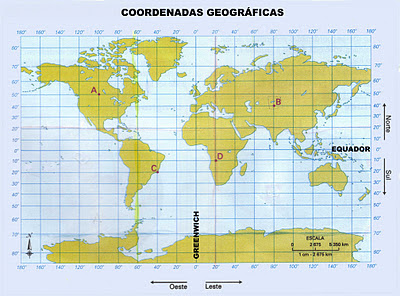 Rede de Coordenadas Geográficas