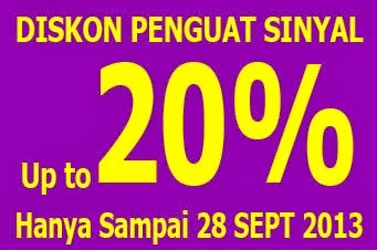 Promo Penguat Sinyal