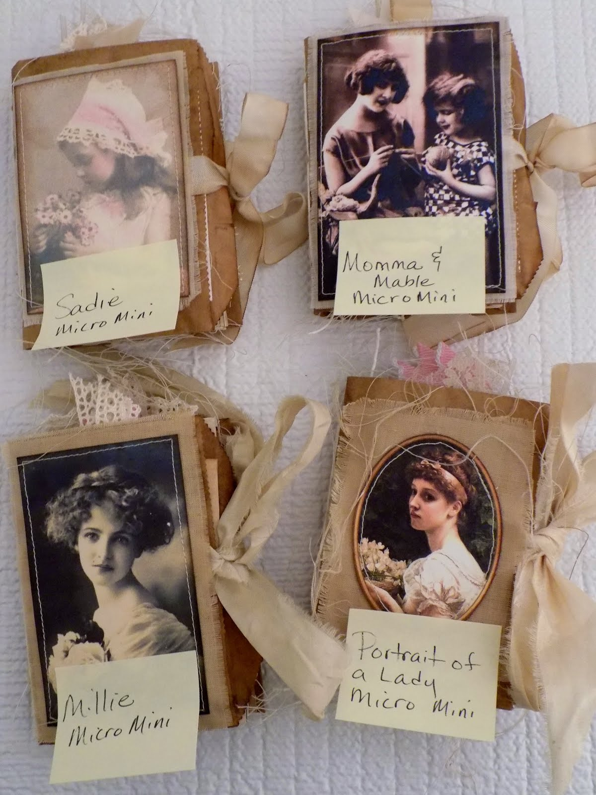 For Sale: Portrait Of A Lady Micro Mini Bag Journal