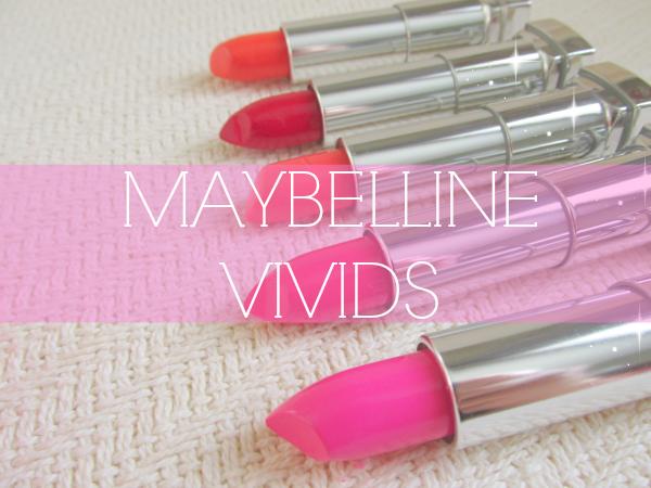 Maybelline Color Sensational Vivids - Reviews, Photos, Swatches - 865 Fuchsia Flash, 870 Shocking Coral,  875 Vivid Rose,  895 On Fire Red,  914 Vibrant Mandarine