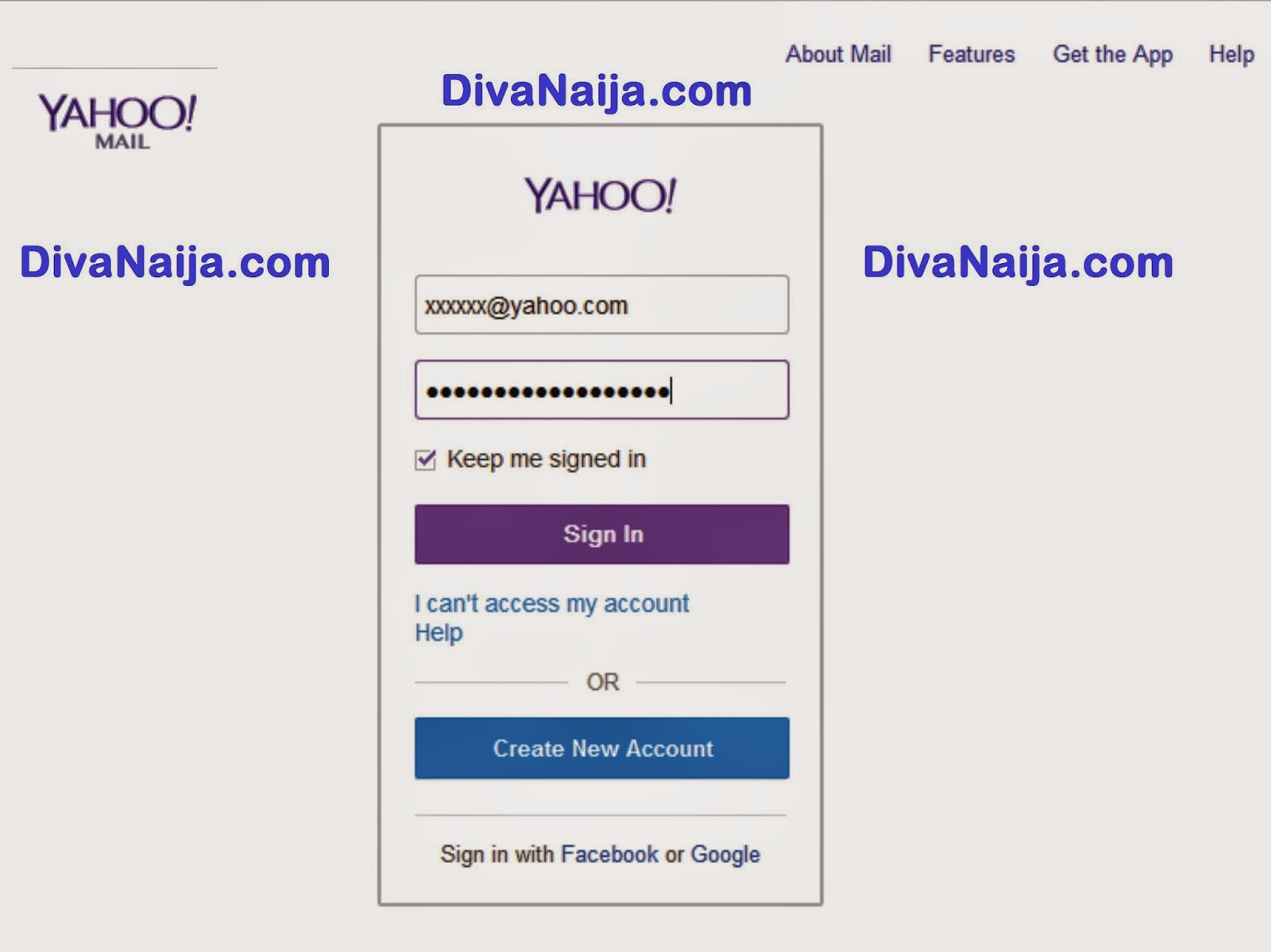 www.yahoomail.com – Yahoo Registration Sign in on Yahoomail Sign Up ...