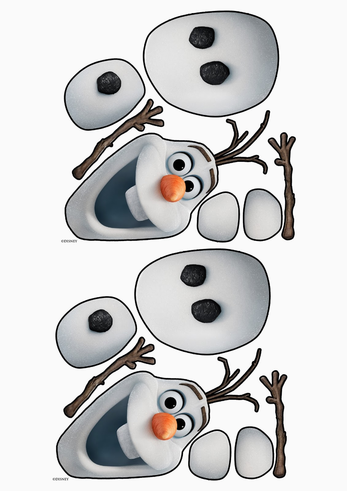 "Search Results for ""Olaf Printable Template"" – Calendar 2015"