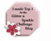 Glitter N Sparkle Challenge 32 Top Three
