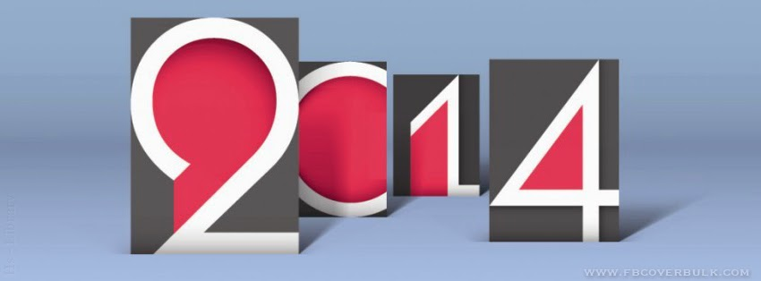 Happy New Year Inscription 2014 003 Facebook Timeline Cover