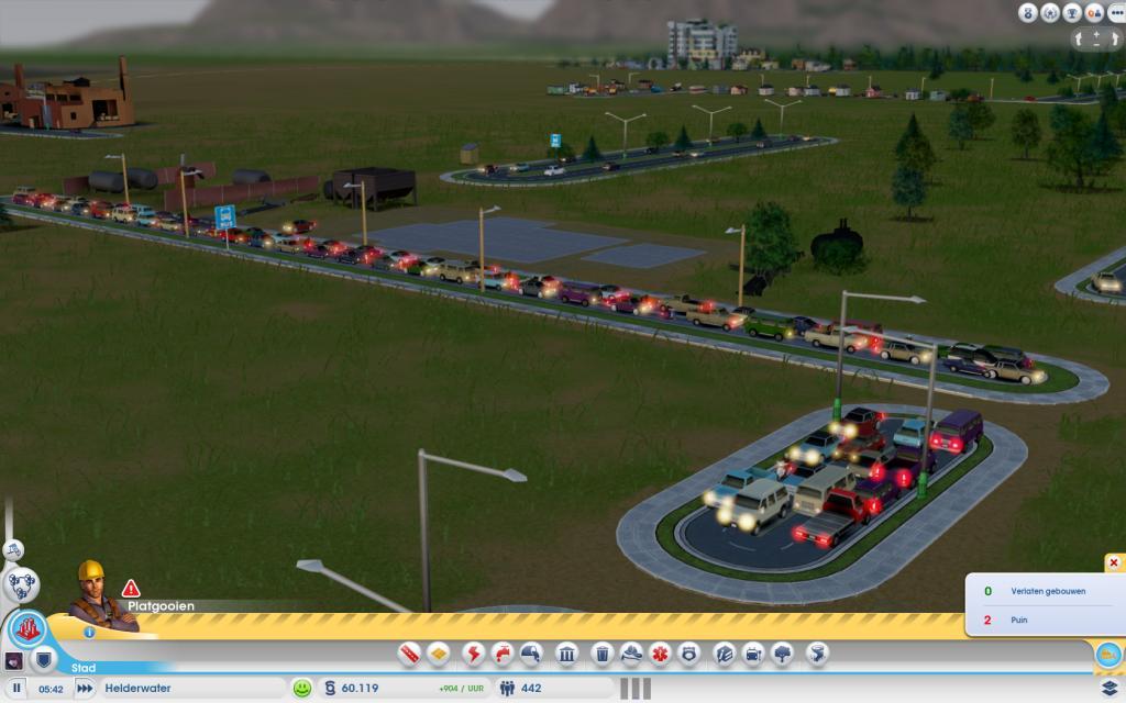 Так бывает, если неправильно строить дороги в SimCity