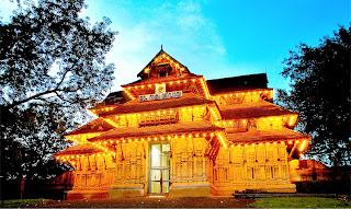 Vadakkumnathan temple in thirssur kerala