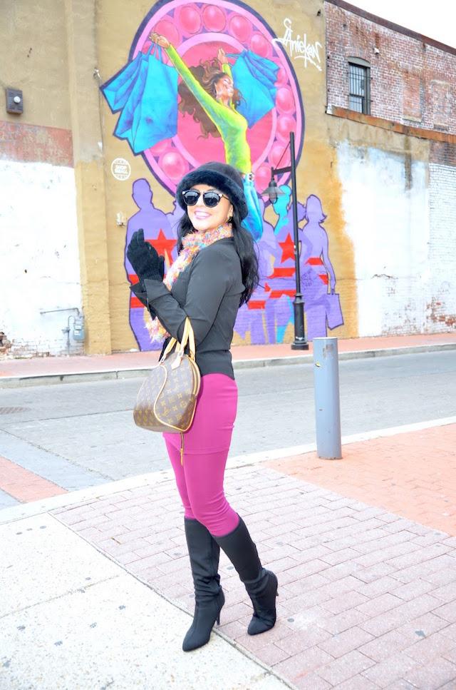Freezing Smile- Mari Estilo- Leggings Outfit - Tendencia Falda con pantalón