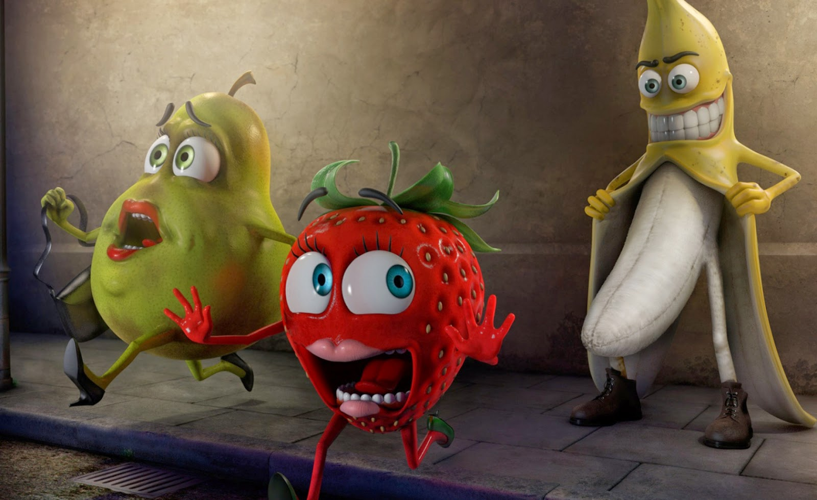 Must Seen 2015 Funny Vegetables Wallpaper