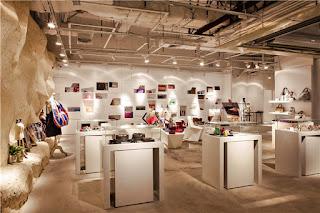 Green Pear Diaries, interiorismo, retail, Flagship store, The Fashion Door, Guangzhou, China