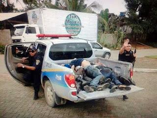 Após roubar quartel da PM, bando é morto por policiais em Rondônia