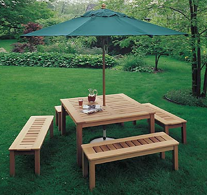 Woodworking Plans For Picnic Tables