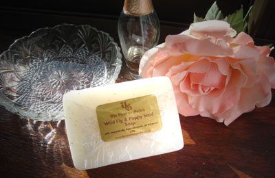 Natural soap from the Victorian Garden