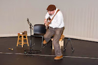 Stephen dancing Mr. Knickerbocker at Long Island Children's Museum