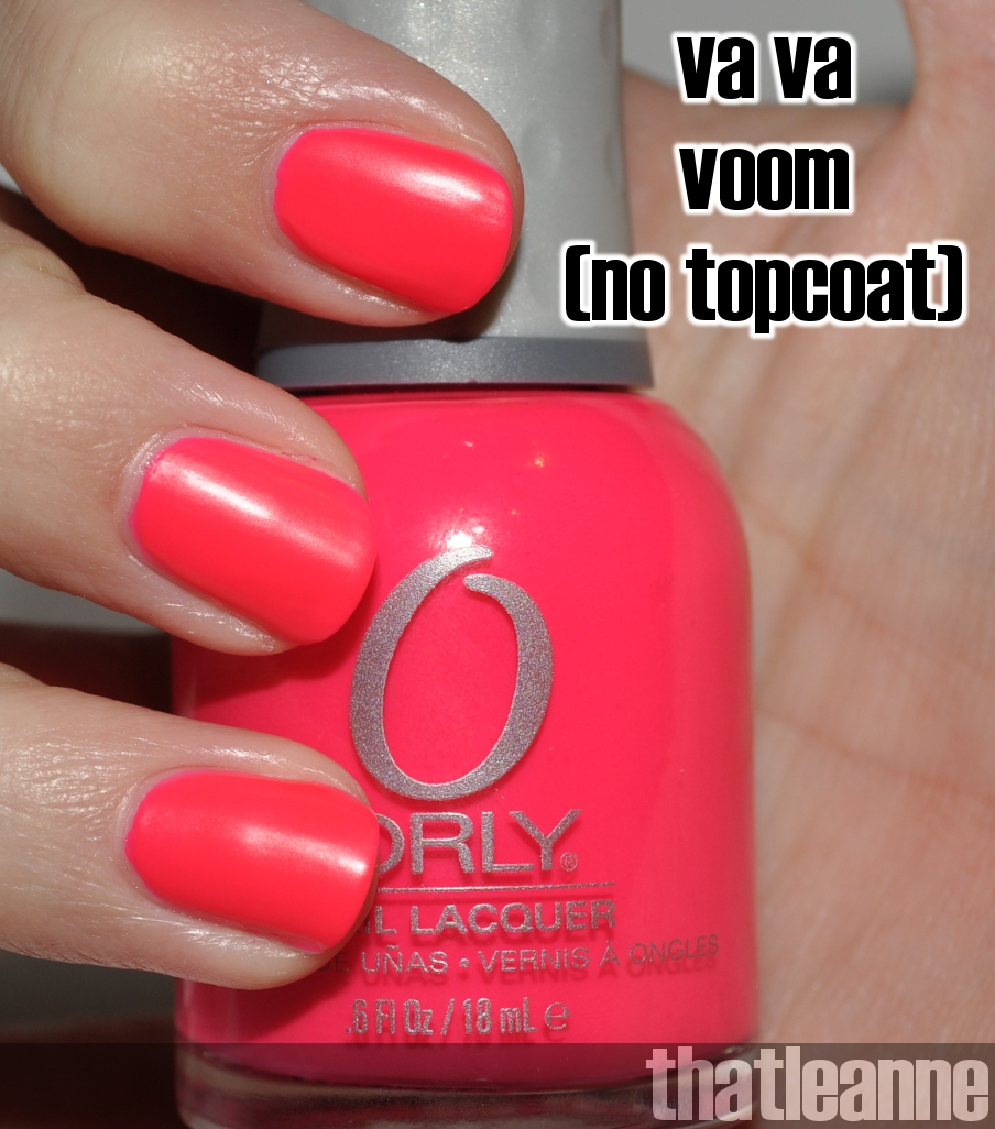 thatleanne orly pin up summer 2011 collection swatches. Black Bedroom Furniture Sets. Home Design Ideas