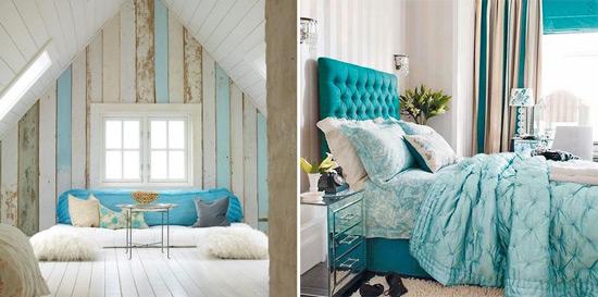 The magnolia tree tiffany blue for Tiffany blue and white bedroom
