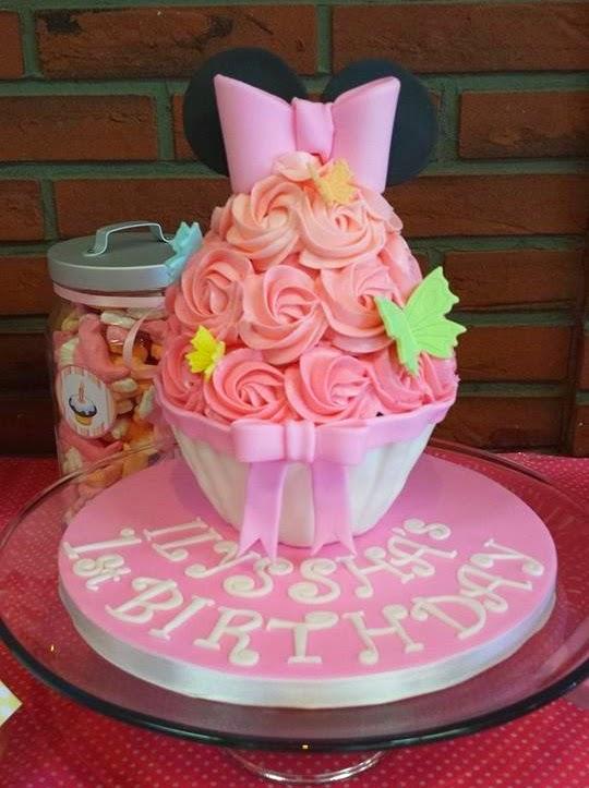 Minnie Mouse 1 ste verjaardag Annekoendigitaal