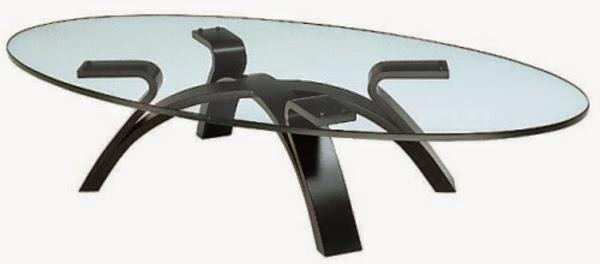 Oval Glass Coffee Table: Modern Design