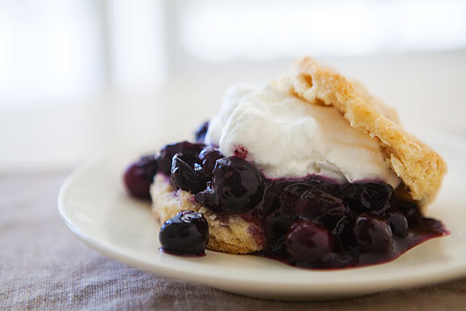 Finally, Blueberry shortcake is a healthy and delicious special ...