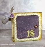 Kartka w kształcie portfela