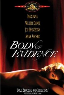 DVD cover Body of Evidence 1993 movieloversreviews.blogspot.com