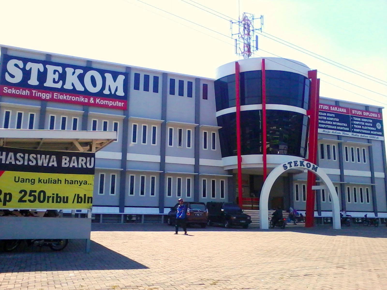 STEKOM Semarang, Tempat Kuliah Komputer, Bisnis dan Ekonomi, Terakreditasi B
