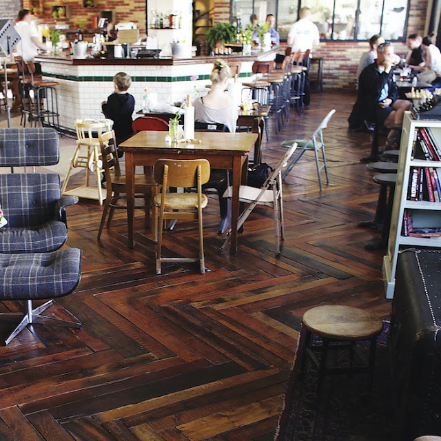 Hardwood Floors Made From Wood Pallets