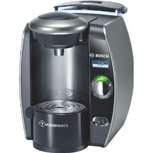Bosch Coffee Maker Cleaning Disc : Tassimo Coffee Machines: Bosch TAS6515GB Tassimo Beverage Maker, Titanium