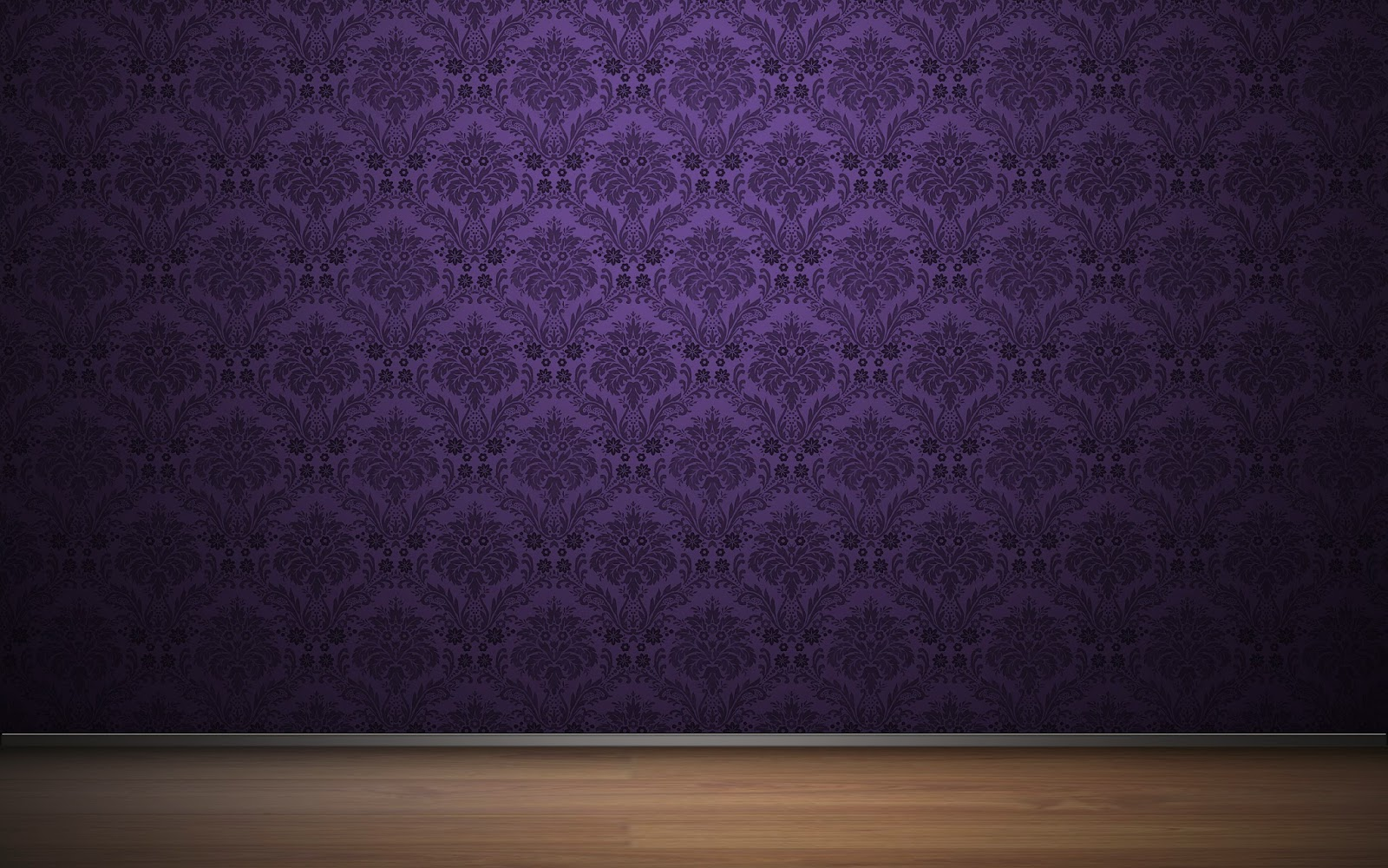 Fondo de pantalla abstracto estampado morado flores en la for Black and blue wallpaper for living room