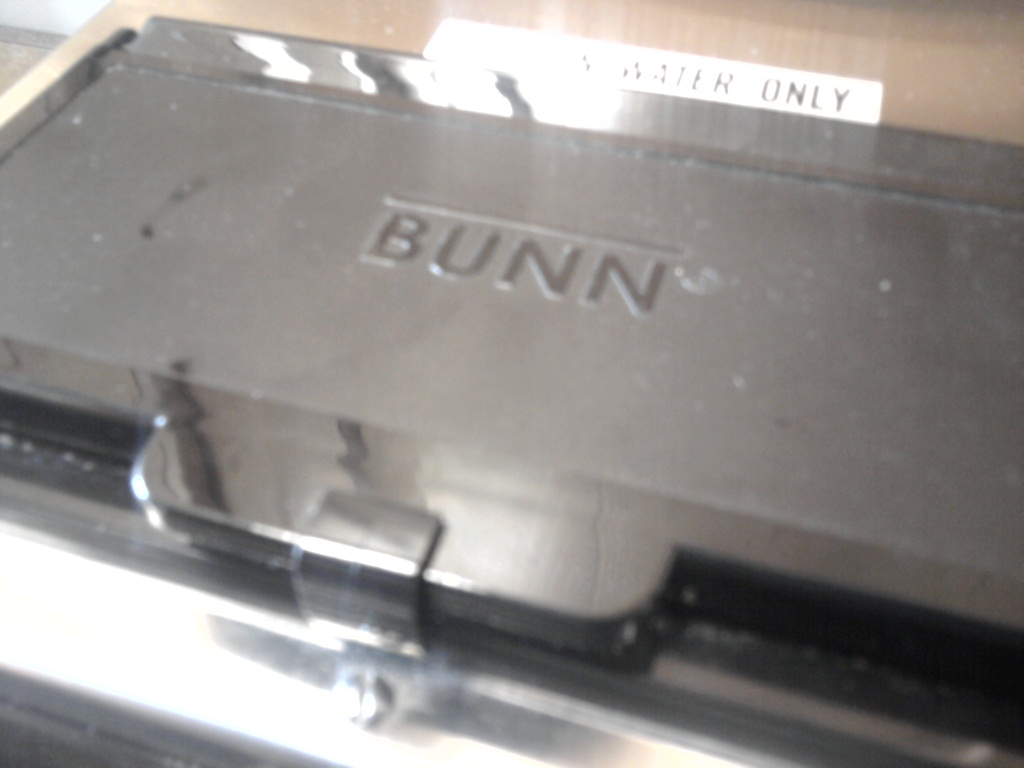 Bunn Coffee Maker Doesnot Work : TurtleDog s Blog: Why Poured Water Wonot Come Out Bunn Coffee Machine Brewer