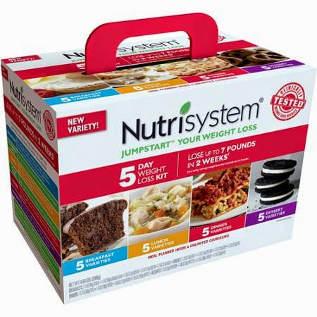 Nutrisystem Food Ratings