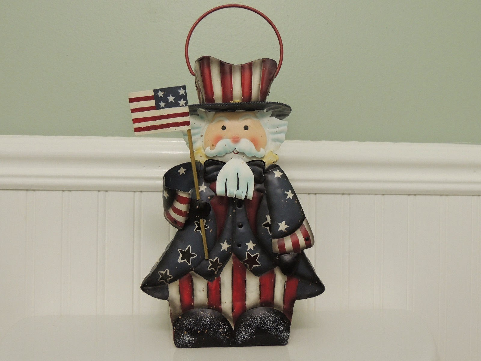 patriotic home table decor