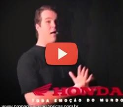 "Propaganda da Honda com o famoso jingle ""Na Cama com Pijama"", de 1994."
