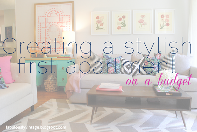 Decorating Your New Apartment On A Budget